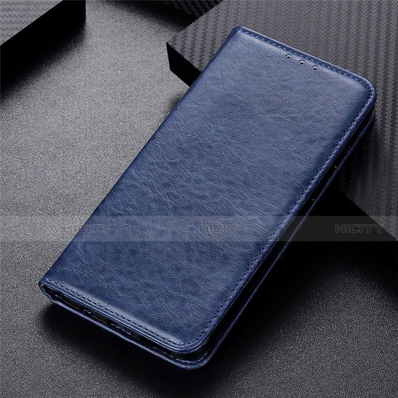 Coque Portefeuille Livre Cuir Etui Clapet L05 pour Motorola Moto G9 Plus Bleu Plus