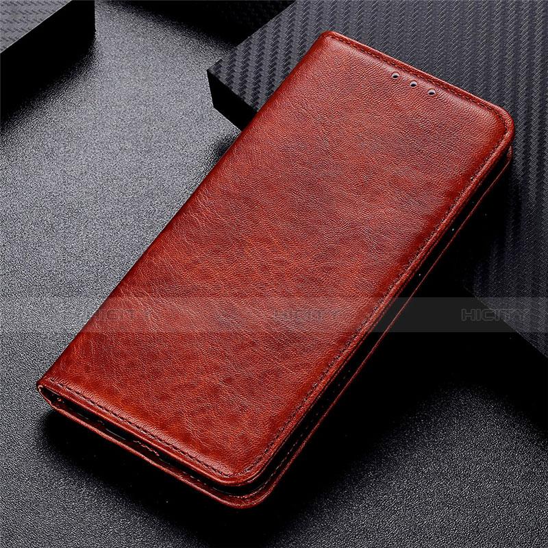 Coque Portefeuille Livre Cuir Etui Clapet L05 pour Motorola Moto G9 Plus Marron Plus