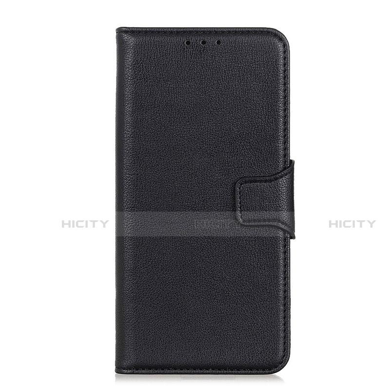 Coque Portefeuille Livre Cuir Etui Clapet L05 pour Oppo Reno3 A Noir Plus