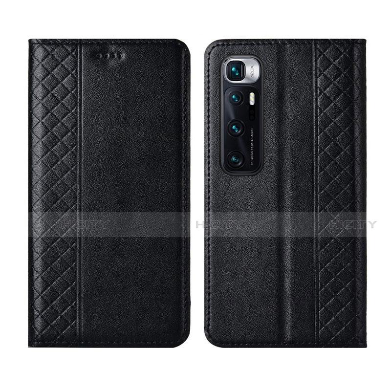 Coque Portefeuille Livre Cuir Etui Clapet L05 pour Xiaomi Mi 10 Ultra Noir Plus
