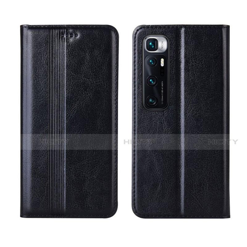 Coque Portefeuille Livre Cuir Etui Clapet L06 pour Xiaomi Mi 10 Ultra Noir Plus