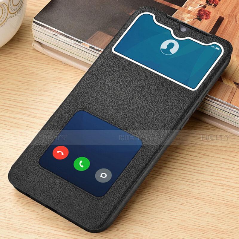 Coque Portefeuille Livre Cuir Etui Clapet L06 pour Xiaomi Redmi Note 8 Pro Noir Plus