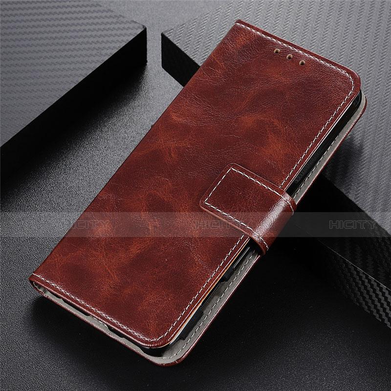 Coque Portefeuille Livre Cuir Etui Clapet L07 pour Motorola Moto G9 Plus Marron Plus