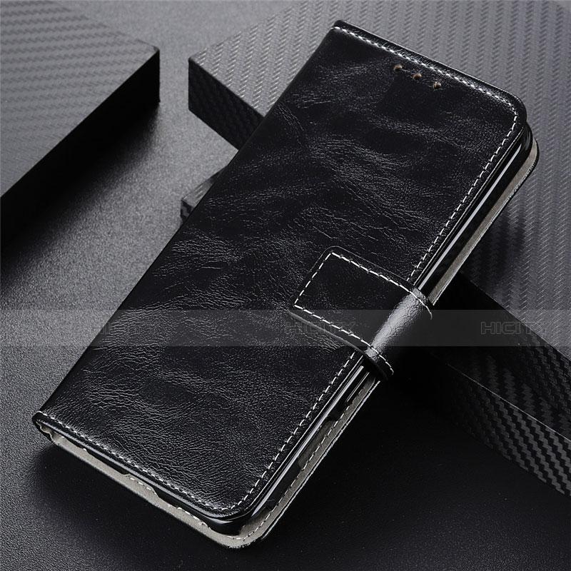 Coque Portefeuille Livre Cuir Etui Clapet L07 pour Motorola Moto G9 Plus Noir Plus