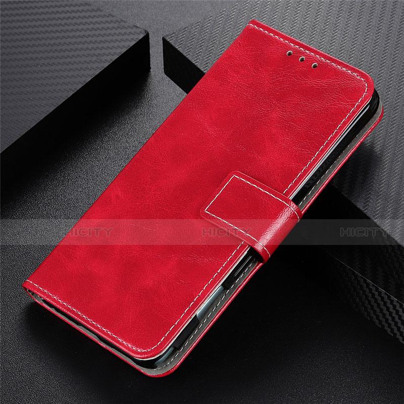 Coque Portefeuille Livre Cuir Etui Clapet L07 pour Motorola Moto G9 Plus Rouge Plus