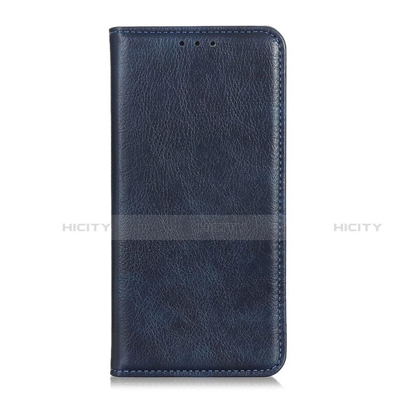 Coque Portefeuille Livre Cuir Etui Clapet L07 pour Xiaomi Mi 10 Ultra Bleu Plus