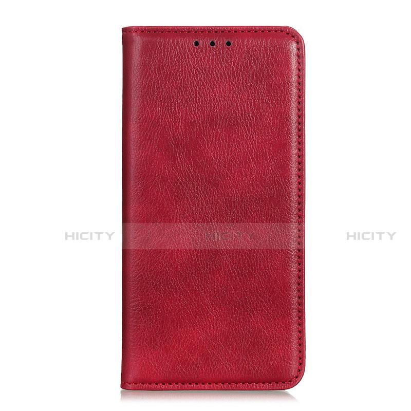Coque Portefeuille Livre Cuir Etui Clapet L07 pour Xiaomi Mi 10 Ultra Rouge Plus