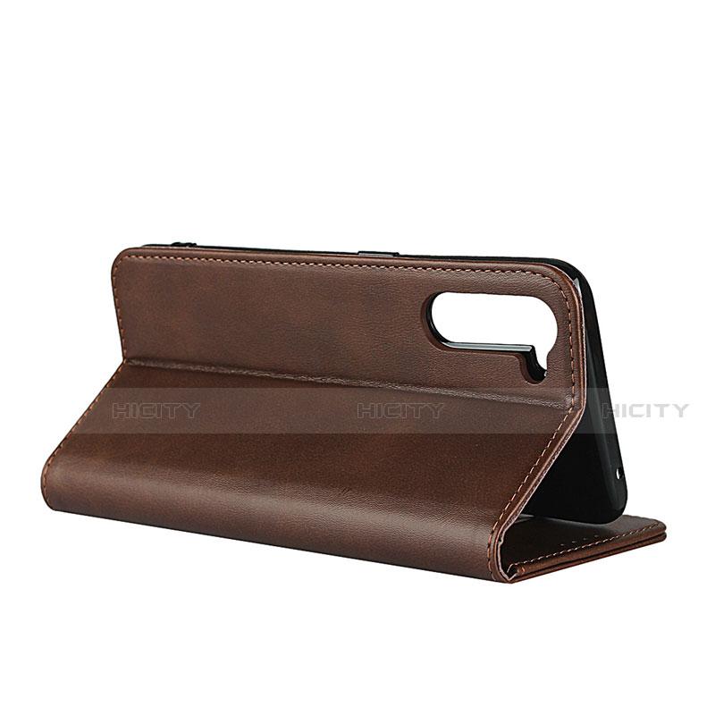 Coque Portefeuille Livre Cuir Etui Clapet L08 pour Oppo Reno3 A Plus