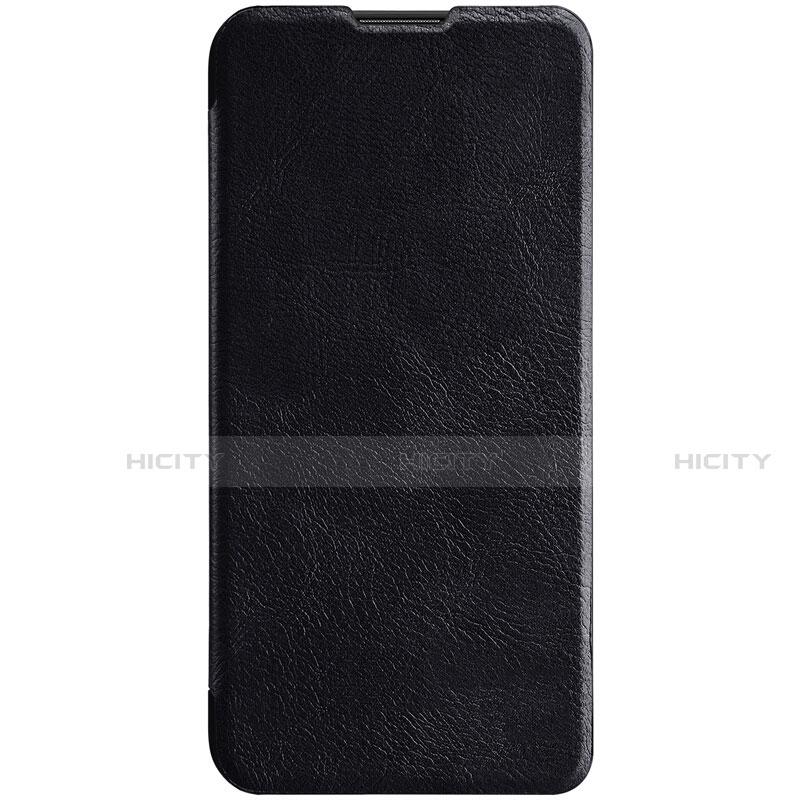Coque Portefeuille Livre Cuir Etui Clapet pour Huawei Honor 20 Lite Noir Plus