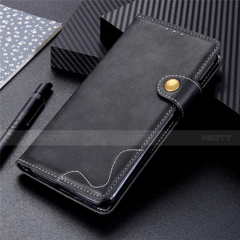 Coque Portefeuille Livre Cuir Etui Clapet pour Motorola Moto G9 Plus Noir Plus