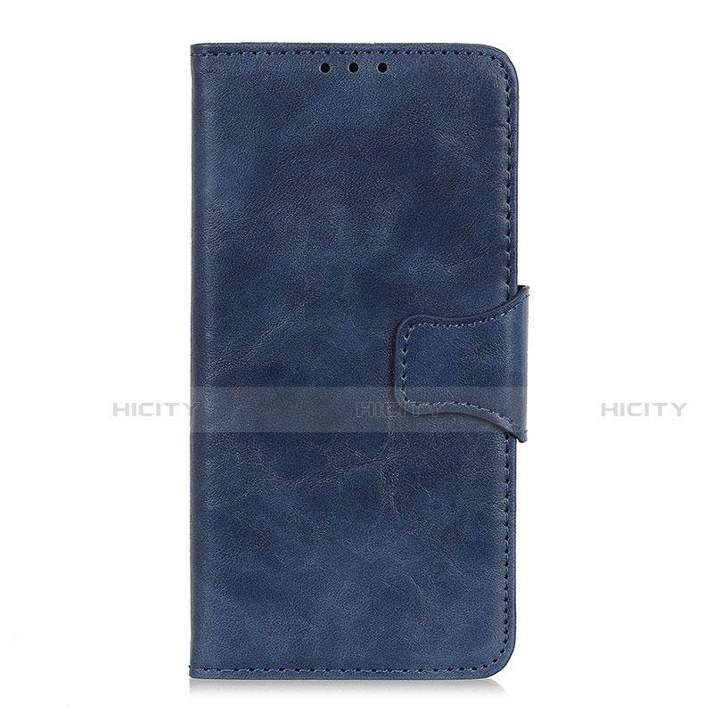 Coque Portefeuille Livre Cuir Etui Clapet pour Oppo Reno3 A Bleu Plus