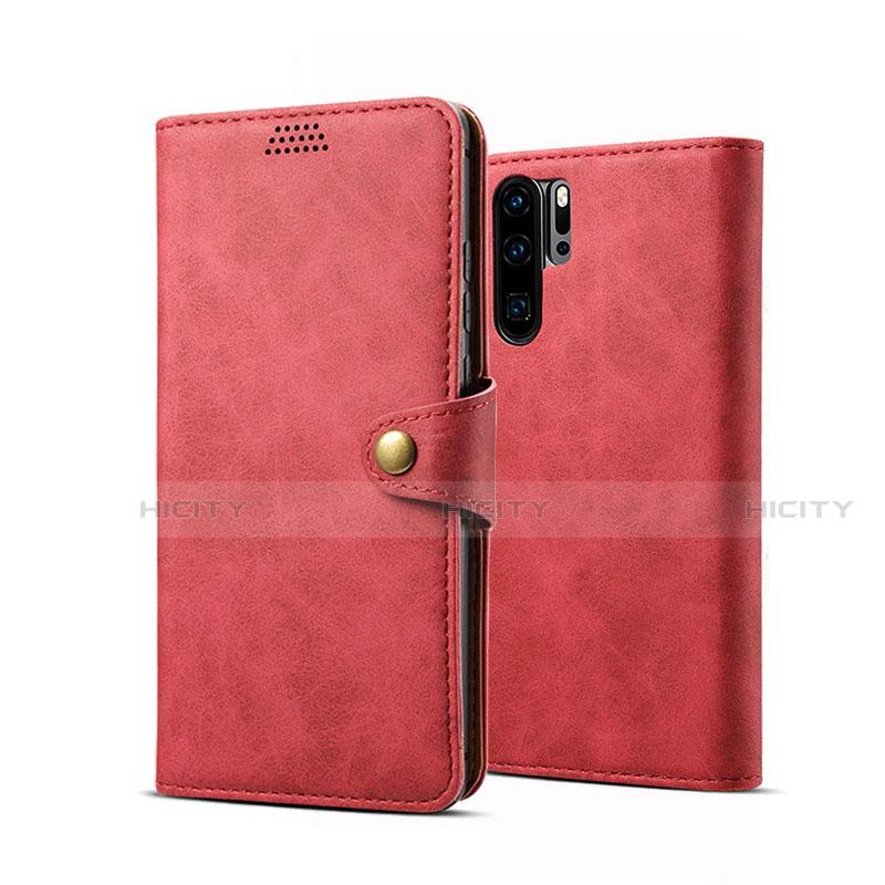 Coque Portefeuille Livre Cuir Etui Clapet T09 pour Huawei P30 Pro Plus
