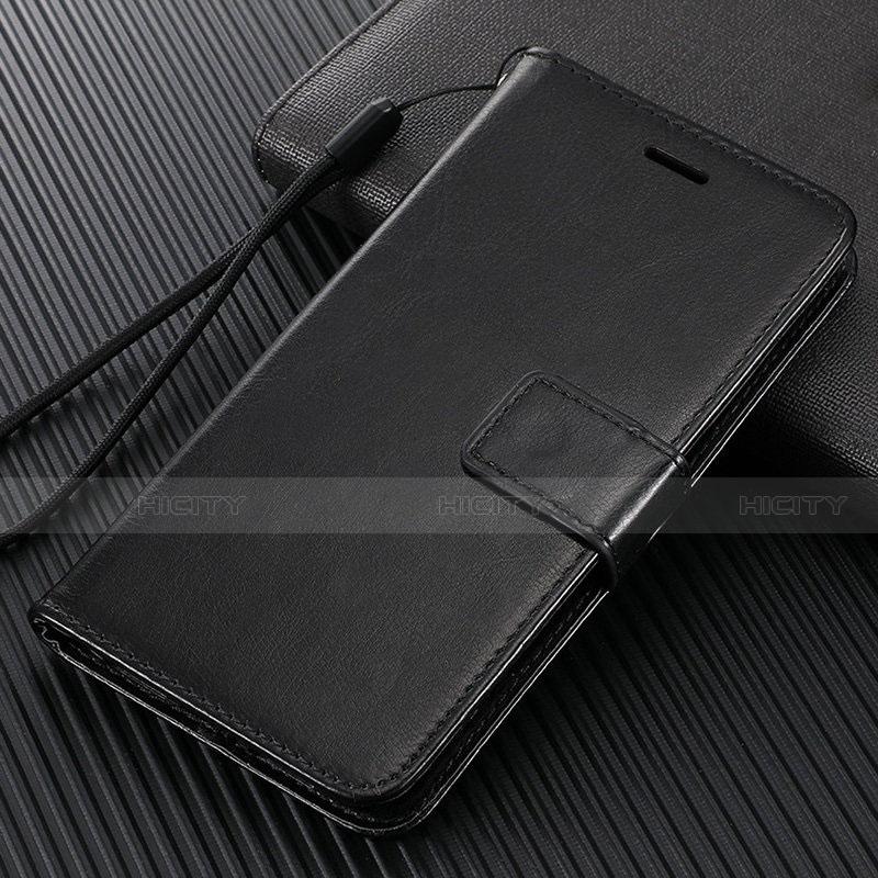 Coque Portefeuille Livre Cuir Etui Clapet T09 pour Oppo Find X2 Pro Noir Plus