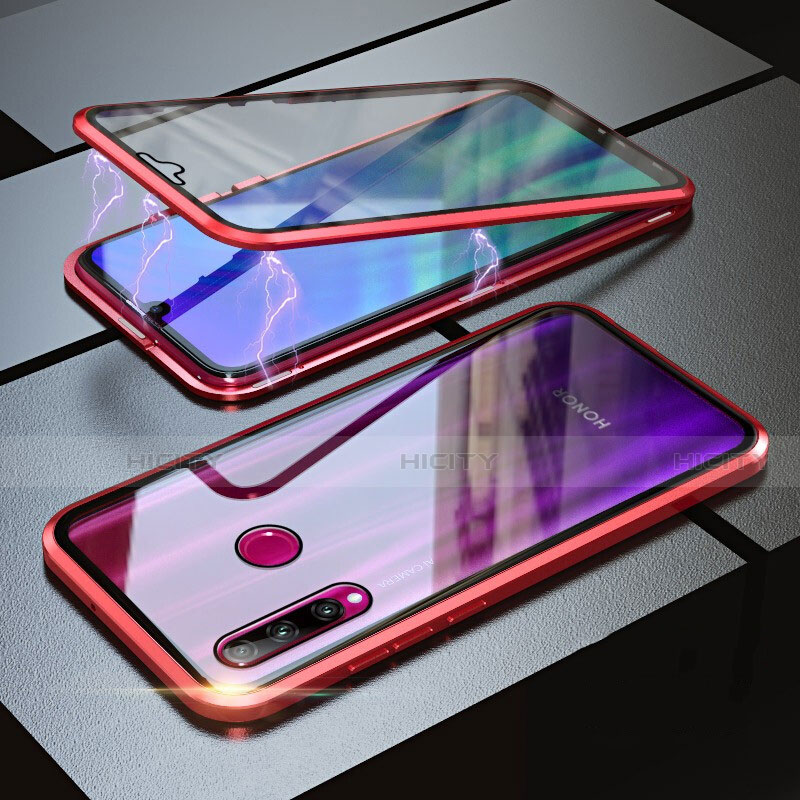 Coque Rebord Bumper Luxe Aluminum Metal Miroir 360 Degres Housse Etui pour Huawei Honor 20 Lite Plus