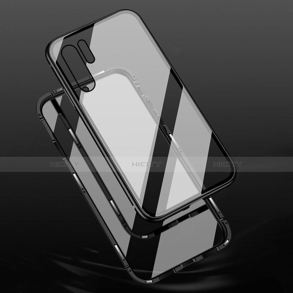 Coque Rebord Bumper Luxe Aluminum Metal Miroir Housse Etui M02 pour Huawei P30 Pro Plus