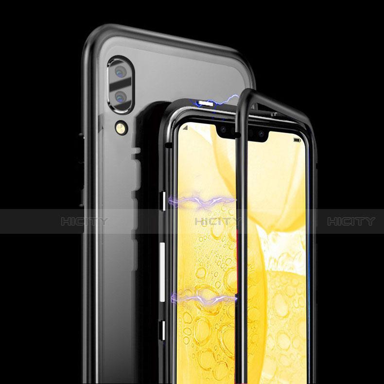 Coque Rebord Bumper Luxe Aluminum Metal Miroir Housse Etui pour Huawei Honor 8X Plus