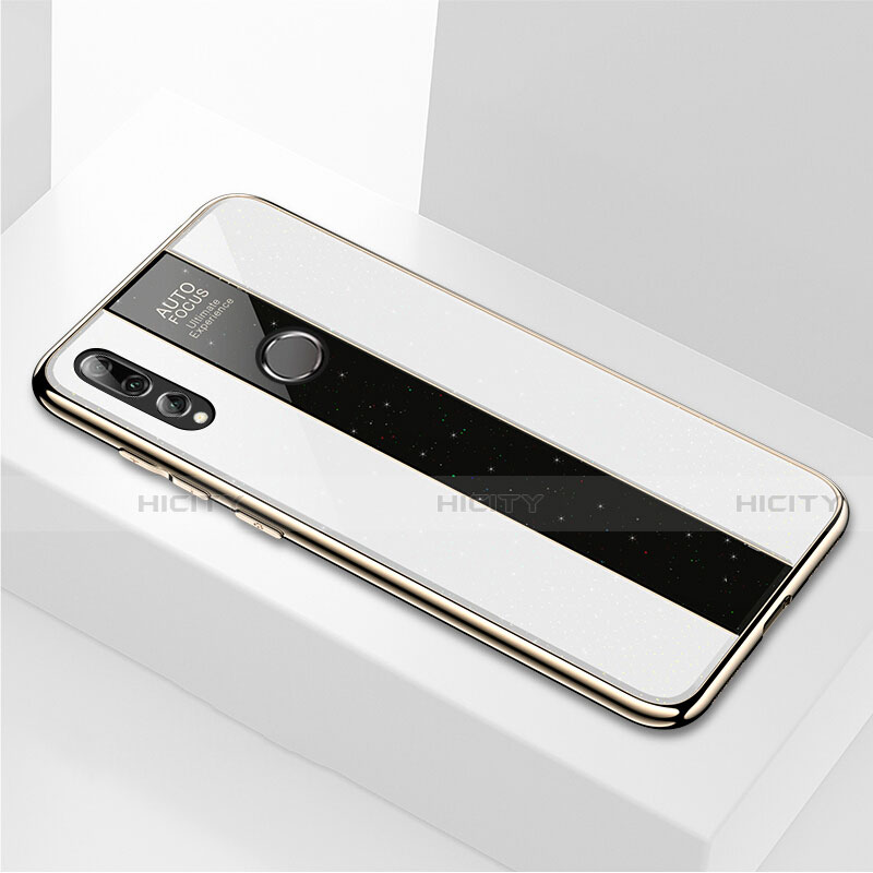 Coque Rebord Contour Silicone et Vitre Miroir Housse Etui M02 pour Huawei Honor 20 Lite Plus