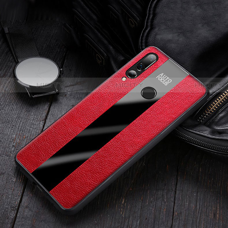 Coque Silicone Gel Motif Cuir Housse Etui pour Huawei Honor 20 Lite Plus