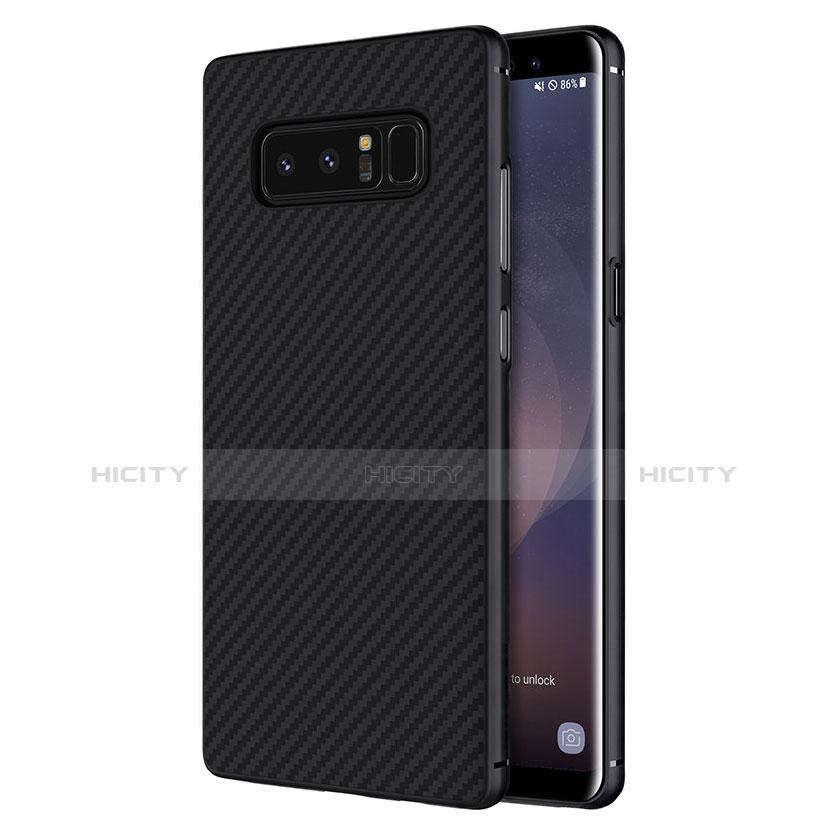 Coque Silicone Gel Serge B02 pour Samsung Galaxy Note 8 Noir Plus