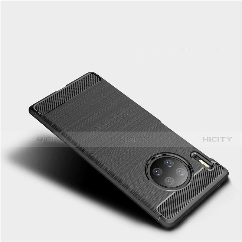 Coque Silicone Housse Etui Gel Line pour Huawei Mate 30 Plus