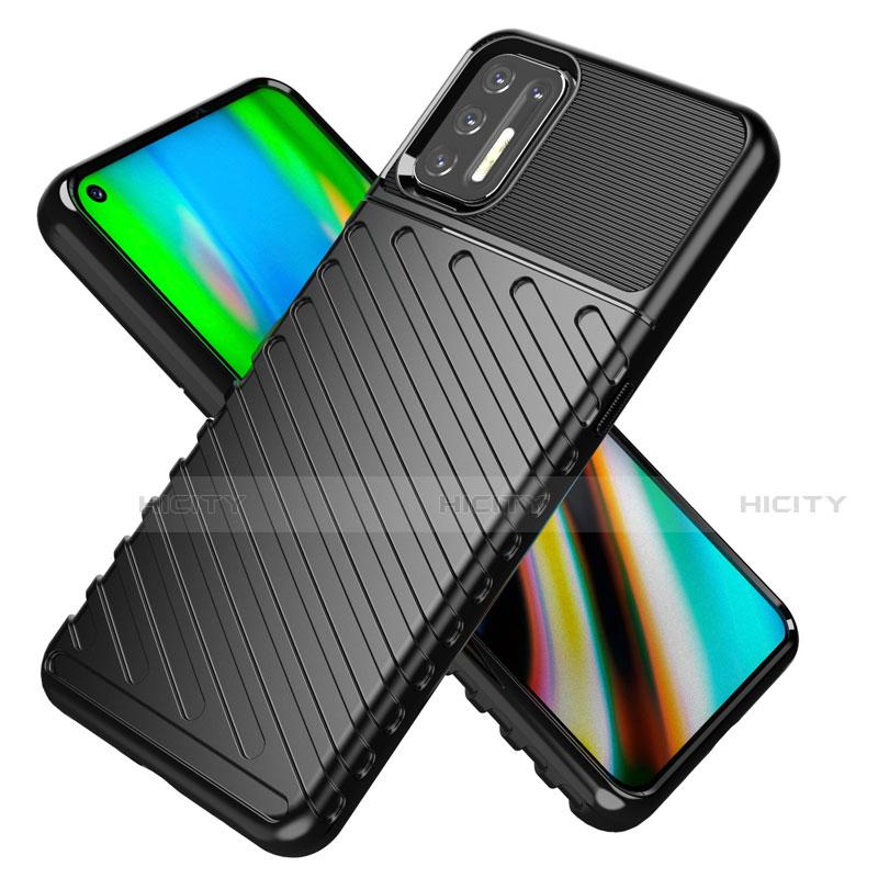 Coque Silicone Housse Etui Gel Line pour Motorola Moto G9 Plus Plus