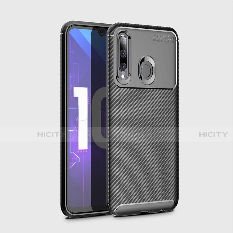 Coque Silicone Housse Etui Gel Serge pour Huawei Honor 20 Lite Noir Plus