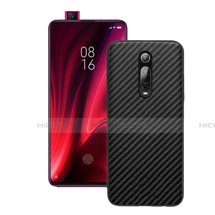 Coque Silicone Housse Etui Gel Serge Y01 pour Xiaomi Mi 9T Pro Noir Plus