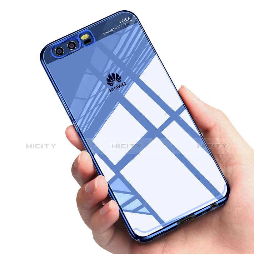 Coque Silicone Souple Miroir M01 pour Huawei P10 Bleu