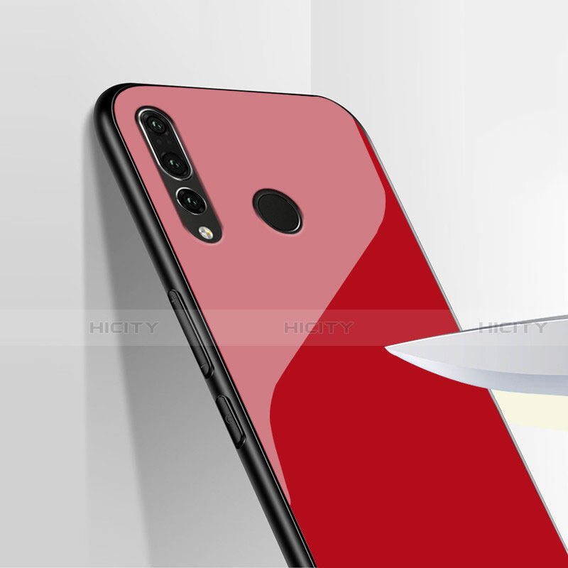 Coque Silicone Souple Miroir pour Huawei Honor 20 Lite Rouge Plus