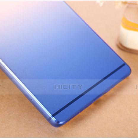 Coque Transparente Rigide Degrade pour Huawei P8 Bleu Plus