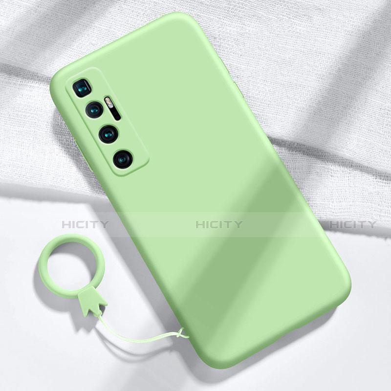 Coque Ultra Fine Silicone Souple 360 Degres Housse Etui pour Xiaomi Mi 10 Ultra Pastel Vert Plus