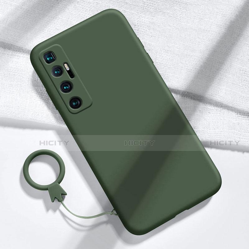 Coque Ultra Fine Silicone Souple 360 Degres Housse Etui pour Xiaomi Mi 10 Ultra Vert Nuit Plus