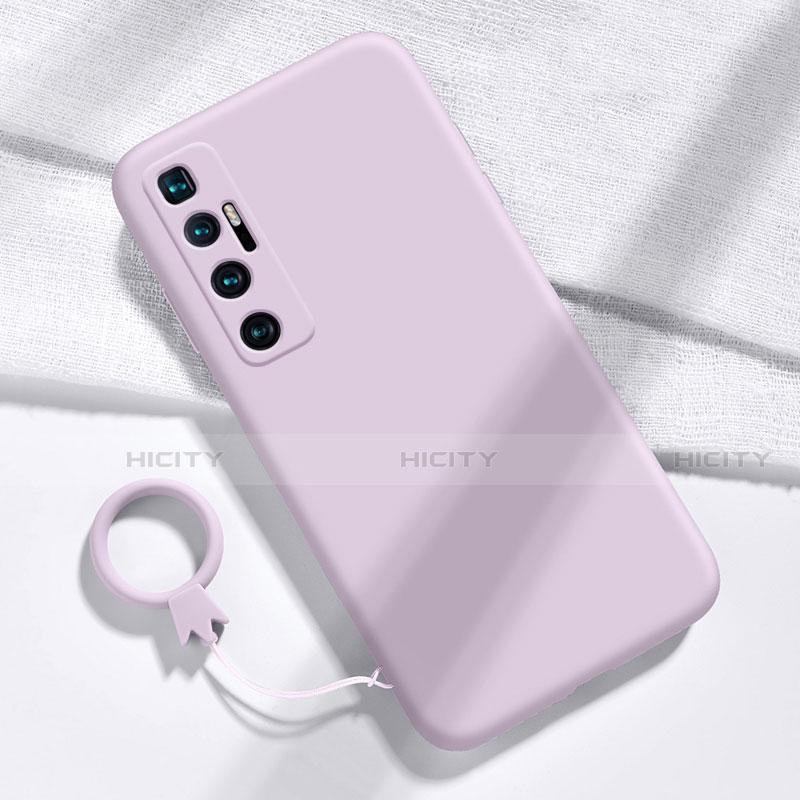 Coque Ultra Fine Silicone Souple 360 Degres Housse Etui pour Xiaomi Mi 10 Ultra Violet Clair Plus