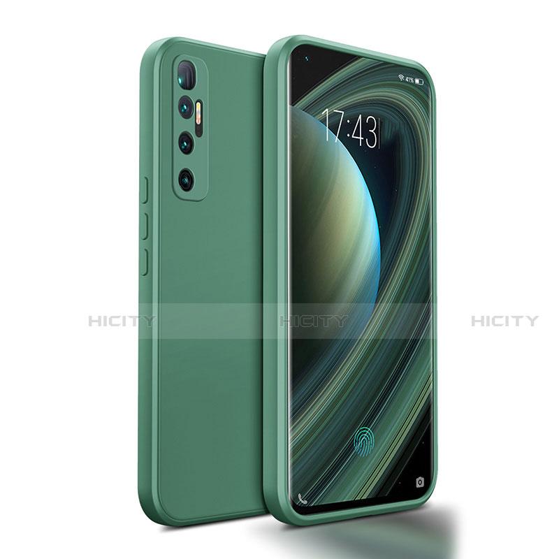 Coque Ultra Fine Silicone Souple 360 Degres Housse Etui S01 pour Xiaomi Mi 10 Ultra Vert Nuit Plus