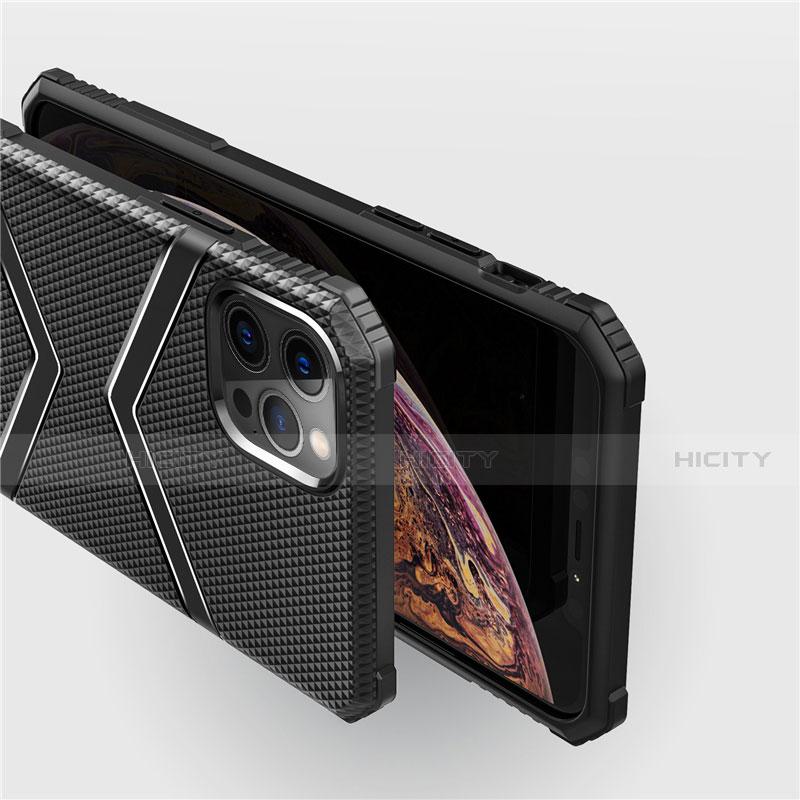 Coque Ultra Fine Silicone Souple 360 Degres Housse Etui S02 pour Apple iPhone 12 Pro Max Plus