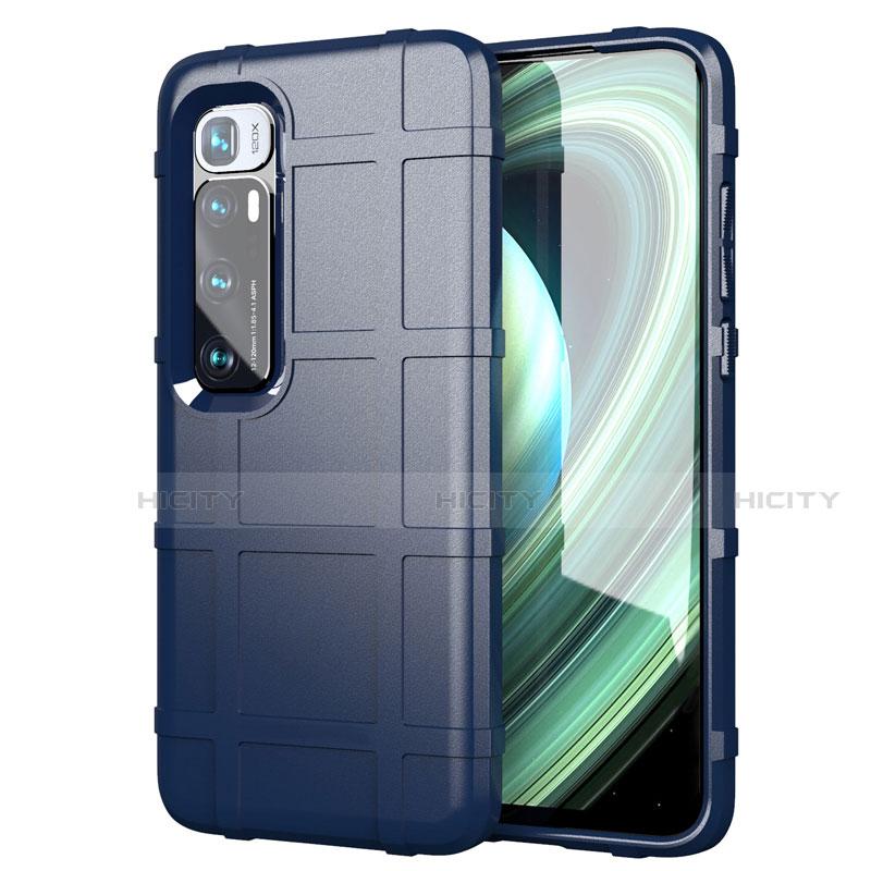 Coque Ultra Fine Silicone Souple 360 Degres Housse Etui S05 pour Xiaomi Mi 10 Ultra Bleu Plus