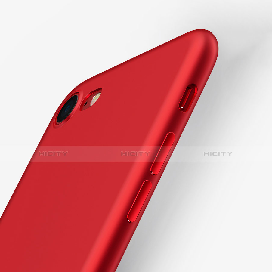 coque ultra fine silicone souple 360 degres pour apple iphone 7 rouge 13155 plus 2