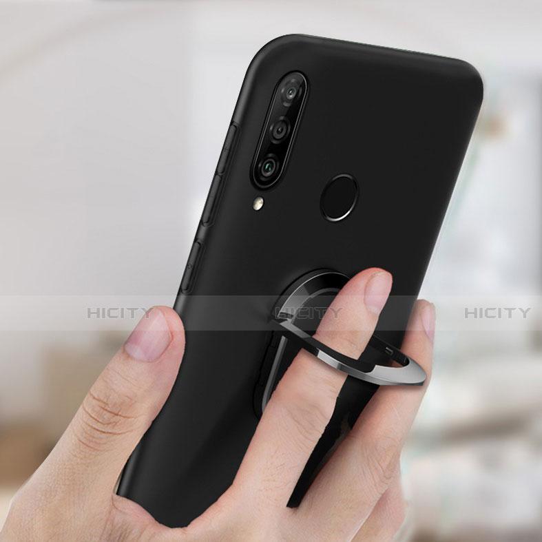 Coque Ultra Fine Silicone Souple Housse Etui avec Support Bague Anneau Aimante Magnetique pour Huawei Honor 20 Lite Plus