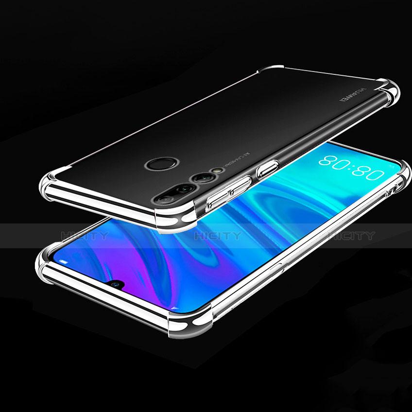Coque Ultra Fine TPU Souple Housse Etui Transparente H01 pour Huawei Honor 20 Lite Argent Plus