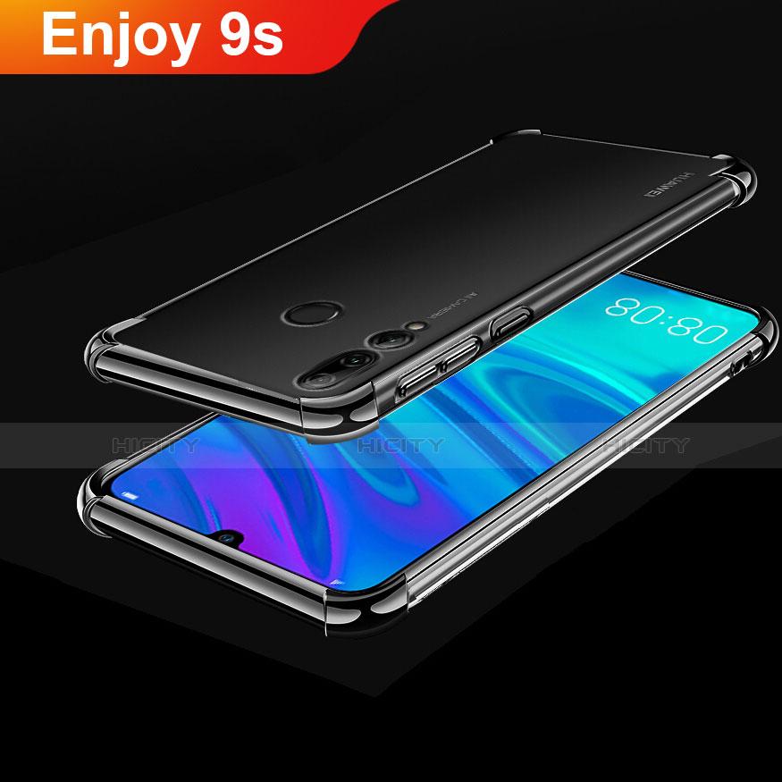 Coque Ultra Fine TPU Souple Housse Etui Transparente H01 pour Huawei Honor 20 Lite Noir Plus