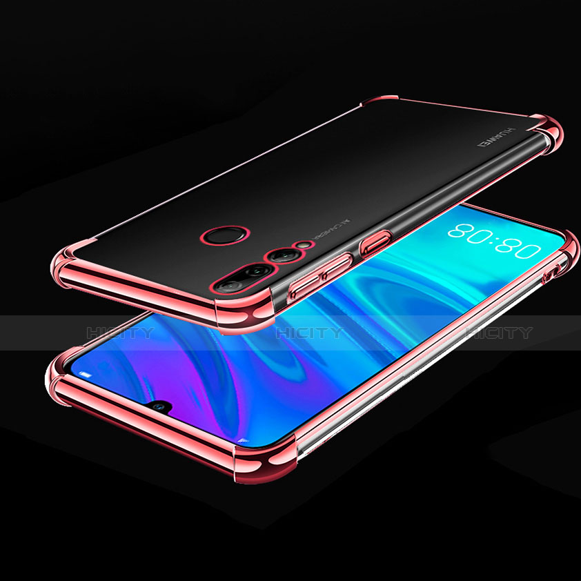 Coque Ultra Fine TPU Souple Housse Etui Transparente H01 pour Huawei Honor 20 Lite Or Rose Plus