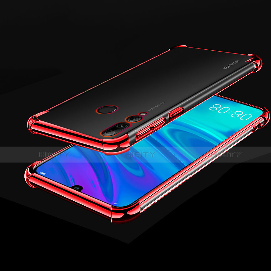 Coque Ultra Fine TPU Souple Housse Etui Transparente H01 pour Huawei Honor 20 Lite Rouge Plus