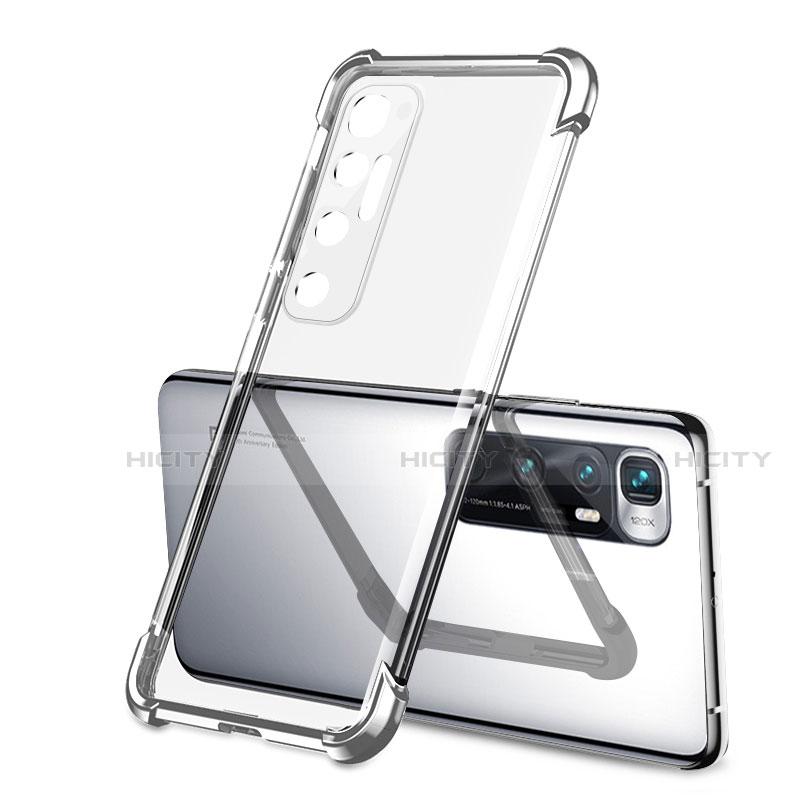 Coque Ultra Fine TPU Souple Housse Etui Transparente H01 pour Xiaomi Mi 10 Ultra Argent Plus