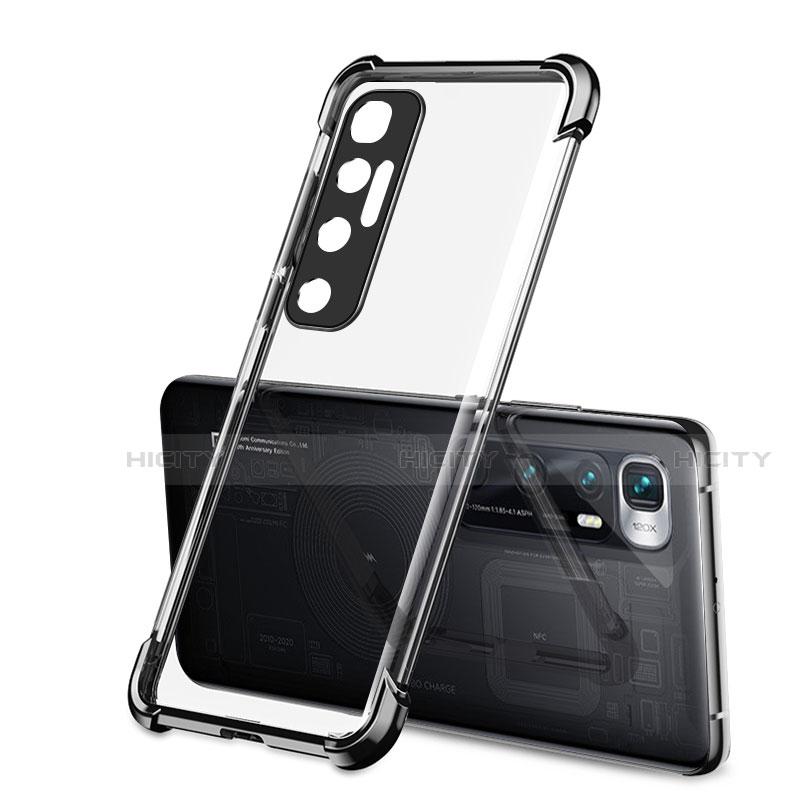 Coque Ultra Fine TPU Souple Housse Etui Transparente H01 pour Xiaomi Mi 10 Ultra Noir Plus