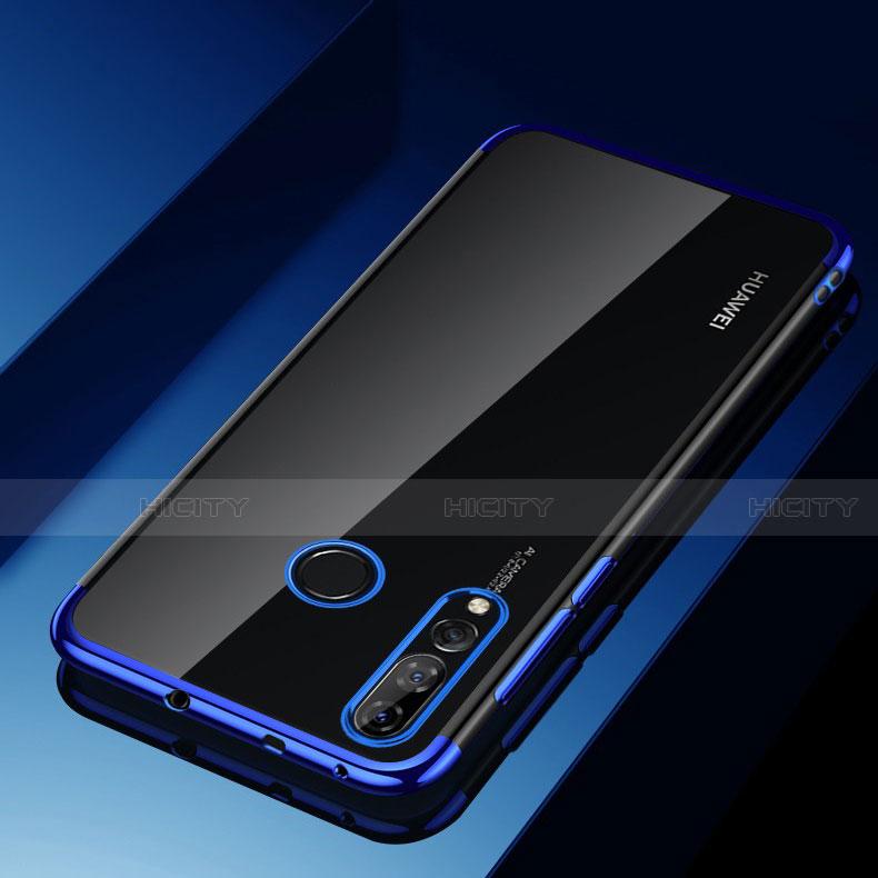 Coque Ultra Fine TPU Souple Housse Etui Transparente H03 pour Huawei Honor 20 Lite Bleu Plus
