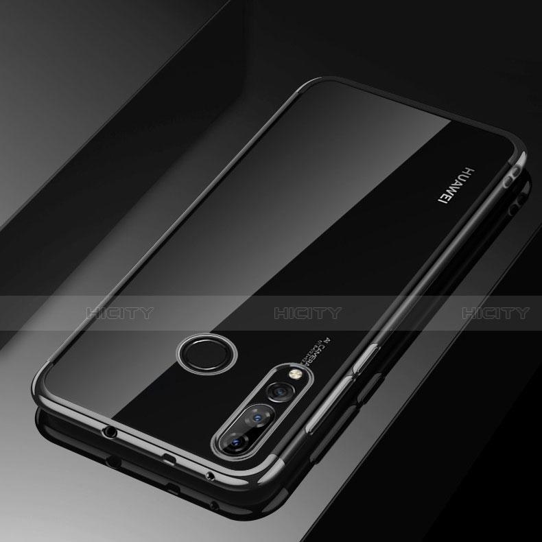 Coque Ultra Fine TPU Souple Housse Etui Transparente H03 pour Huawei Honor 20 Lite Noir Plus