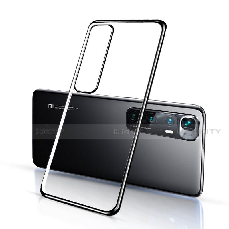 Coque Ultra Fine TPU Souple Housse Etui Transparente H03 pour Xiaomi Mi 10 Ultra Noir Plus