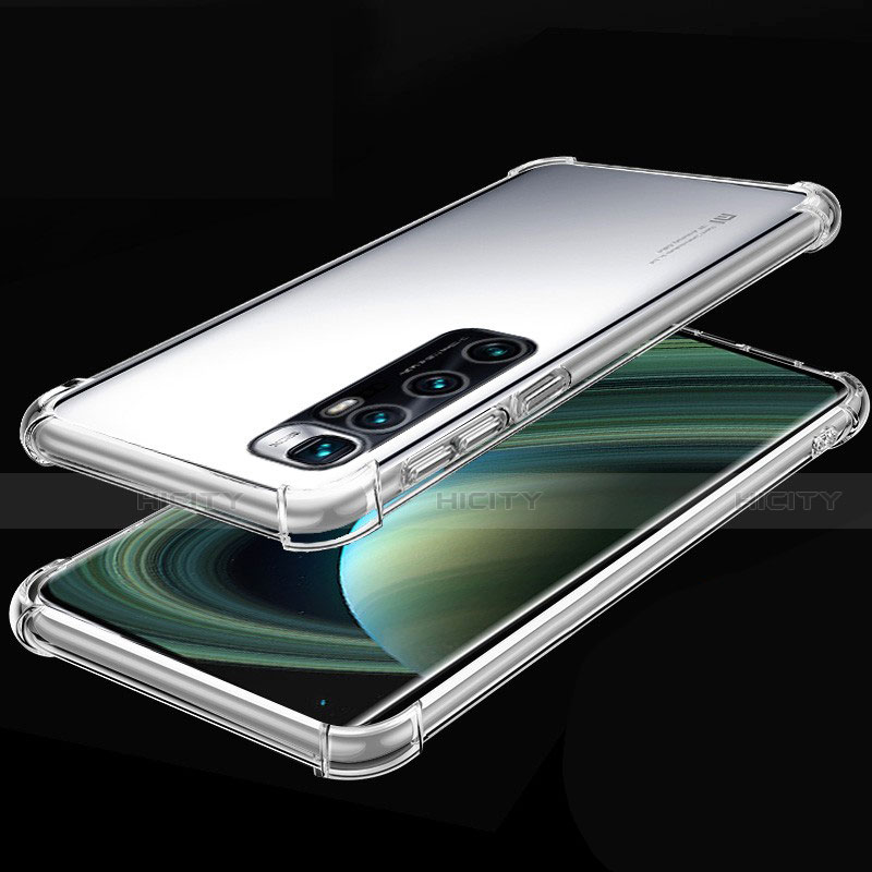 Coque Ultra Fine TPU Souple Housse Etui Transparente H04 pour Xiaomi Mi 10 Ultra Clair Plus