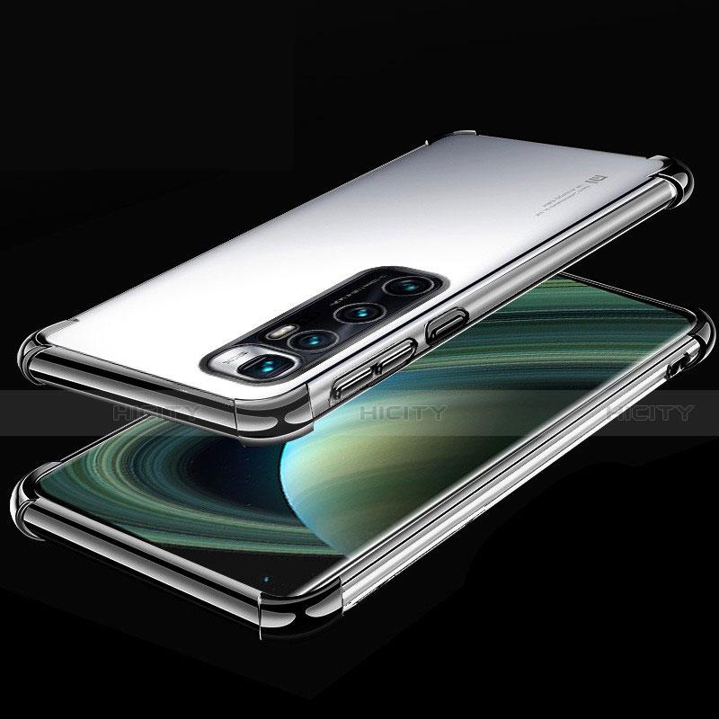 Coque Ultra Fine TPU Souple Housse Etui Transparente H04 pour Xiaomi Mi 10 Ultra Noir Plus