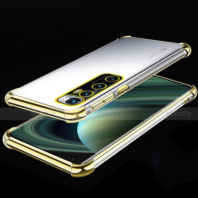 Coque Ultra Fine TPU Souple Housse Etui Transparente H04 pour Xiaomi Mi 10 Ultra Or Plus